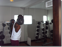 upper shoulder press