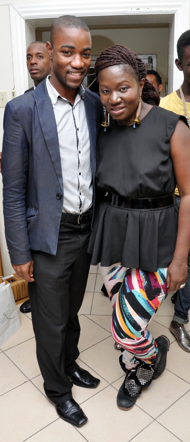 When Project Runway alum Korto Momolu returned for her second Clothes Encounter show at Kerry manwomanhome, I interviewed her for a second Cocktails With (http://www.jamaicaobserver.com/lifestyle/Cocktails-with---Korto-Momolu_10329648 and http://www.jamaicaobserver.com/lifestyle/Cocktails-With-Korto-Momolu_13149960), enjoyed both.