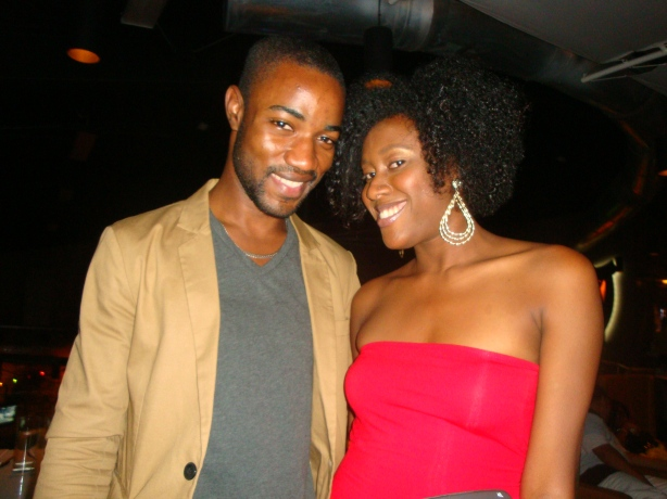 Next up was my former co-worker Tamika Coley's birthday at Usain Bolt's Tracks and Records. Awesome time.