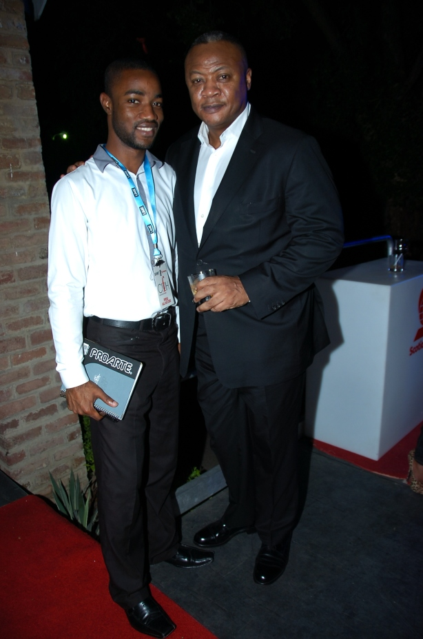 When business guru Rene Carayol flew in to host SAINT International's Colour Me High Fashion, I interviewed him for a My Kingston (http://www.jamaicaobserver.com/lifestyle/My-Kingston---Ren-eacute--Carayol_13210737)and got a photo-op post show. It was quite inspiring.