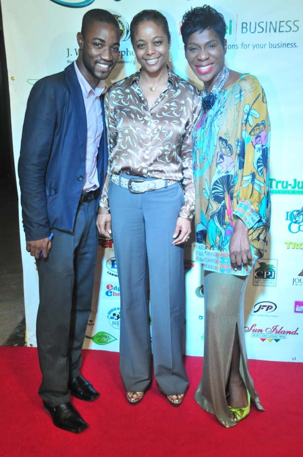 My editor Novia McDonald-Whyte hosted the red carpet segment for the Jamaica Manufacturer's Association annual awards in October. Here we are pictured with Senator Marlene Malahoo Forte.